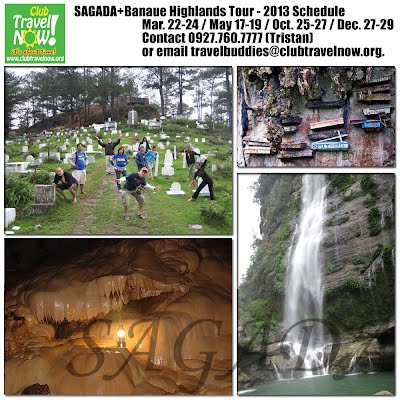 Sagada + Banaue Highlands Tour Sched